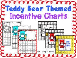 Teddy Bear Chart Reward Charts Teddy Bear Themed