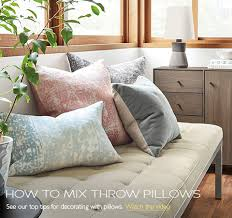 ... How to Mix Throw Pillows Video ...