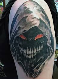 But nope, the man got smacked by barbeque equipment. 101 Demon Tattoo Designs Ideas With Meanings