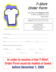 blank t shirt order form template word t shirt order form template blank a part of under others simple