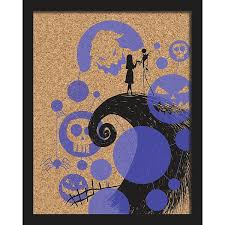 Shop our best deals on 'jack skellington and sally' cardboard cutouts at allposters.com. Roommates Nightmare Before Christmas Jack And Sally Cork Wall Art