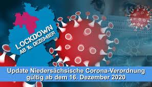 Die corona verordnung für niedersachsen umfasst 21 seiten. Corona Verordnung Des Landes Niedersachsen Ab Dem 16 Dezember 2020