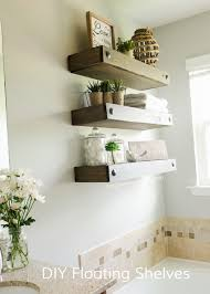 craftaholics anonymous diy floating shelves wood shelf with drawer functional storage and decor for small space