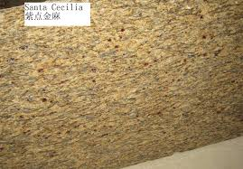 Giallo St Cecilia Light Granite Hot Item Polished Giallo Santa Cecilia Granite Yellow Granite For Floor Tiles Slab Countertop