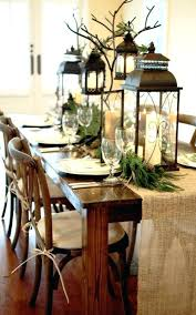 dining table decor top tables of table love how they hung