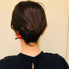 かんざしでハーフアップもかんざしのヘアアレンジ12選feelyフィーリー