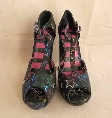Platform Shoes Abbey Dawn Avril Lavigne Starstruck T Bar