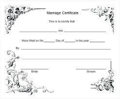 Wedding Certificate Template Inspiration Certificate Template Microsoft Publisher Marriage Word Getpicksco
