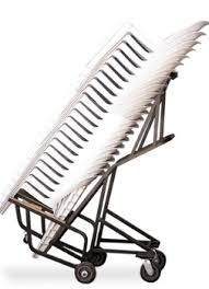 chair trolley. don\u0027t let your staff injure themselves trying to manually move stacking chairs. chair trolley