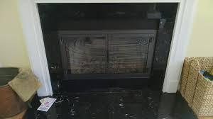 portland willamette newport cabinet doors on zc fireplace