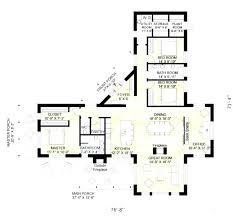 l shaped floor plans house