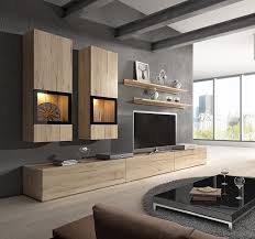 Entertainment Room Design Modern Living Room Design Ideas With Baros Sonoma Oak Wall Unit