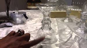 Diy Gold Candle Holders Dollar Tree Diy Candleholders Gold Or Silver Youtube