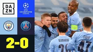 City im Finale! Mahrez schießt Citizens ins Glück: Man City - PSG 2:0 |  UEFA Champions League