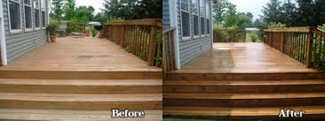 before after cleaning and sealing a deck deck cleaning sealing f67