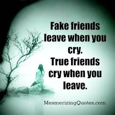 Mesmerizing Quotes On Fake Friend