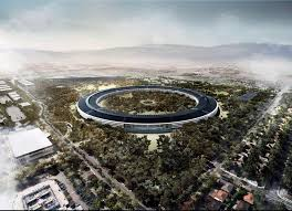 apple cupertino office. An Artist\u0027s Impression Of The Apple HQ, Which Will Be Surrounded By Woodland Cupertino Office