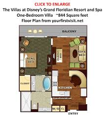 One Bedroom Suites In Orlando Grand Floridian Villas Luxury And Sophistication