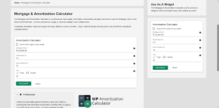 Amotization Calculator Wp Amortization Calculator