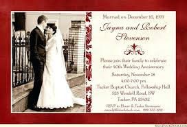 Wedding Anniversary Invitations By Existing Some Foxy Artistic