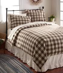 plaid bedding bedroom