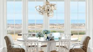 beach dining room sets. Brilliant Room A Lowprofile Table Armless Chairs With Clean Lines And A Glass Throughout Beach Dining Room Sets
