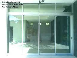 sliding patio door track 4 panel sliding door awesome 4 panel sliding patio doors for glass sliding patio door
