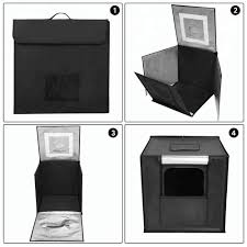 Photo Studio Box Light Cube Tent 70cm Portable Foldable Photo Studio Led Shooting Cube Tent