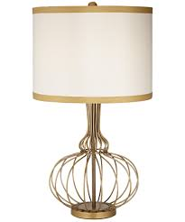 bohemian lighting. Magnifying Glass Image Shown In Salem Gold Finish And Faux Silk Fabric Shade Bohemian Lighting O