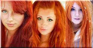 červené Vlasy Kdo Je Odstín Jako Je Měď Mahagon A Vínová