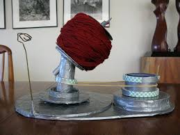 picture of make your own yarn winder for center pull