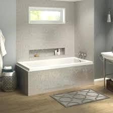 left hand bathtub pose corner rectangular soaking bathtub x x left hand drain right 54 inch left