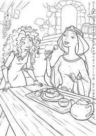 Small Picture disney movies coloring pages PRINCESS MERIDA COLORING SHEETS