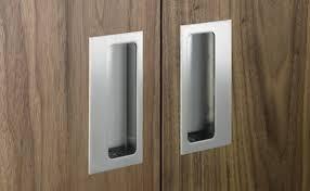 flush cabinet pulls. sliding closet door finger pull flush cabinet pulls -
