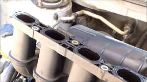 P0171 Replace intake manifold gasket Toyota Matrix √ - YouTube