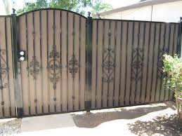 wrought iron privacy fence. Modren Wrought Fence Gate For Good Looking Wrought Iron Privacy Fences To R