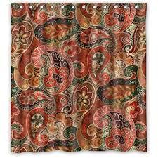 66 w x72 h inch waterproof bathroom bohemian shower curtain shower curtains