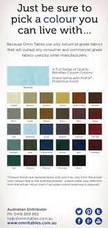 Omni Color Table Omni Tables