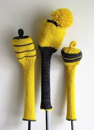 Knitting Pattern For Golf Club Covers