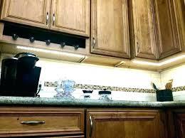 above cabinet lighting under light switch fascinating led strip lights kitchen cupboard counter halo ligh
