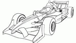 Kleurplaat Formule 1 Auto Kleurplaatjenl