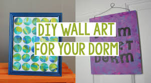 Diy Wall Art Diy Wall Art For Your Dorm A Little Craft In Your Day