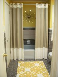 Unique Split Shower Curtain Ideas Two Curtains Instead Of One In Concept