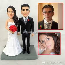 Custom Polymer Clay Figurine Nautical Topper Cake Wedding Love Cake