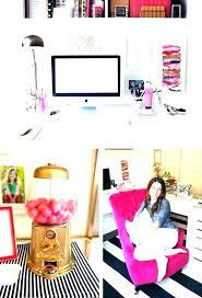 girly desk supplies cute
