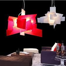 designer lamp big bang suspension led pendant light chandelier acrylic lamps e27