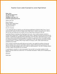 Collection Of Solutions 6 High School Letter Brilliant Cover Letter