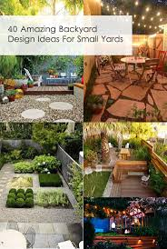 Patio Designs For Small Yards Small Backyard Design Ideas On A Budget Decorating