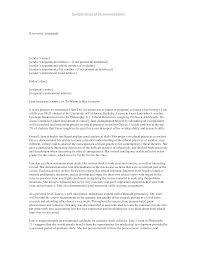 sample letter of recommendation for college student letter of recommendation for exceptional candidate college