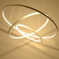 led circle chandelier modern led chandelier acrylic lights lamp for dinning room living room re chandelier